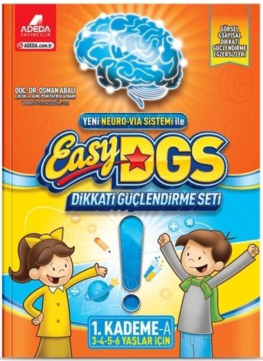Morhipo kitap Easy DGS Dikkati Güçlendirme Seti 1. Kademe A Kitapçığı (3 - 6 Yaş) Renkli